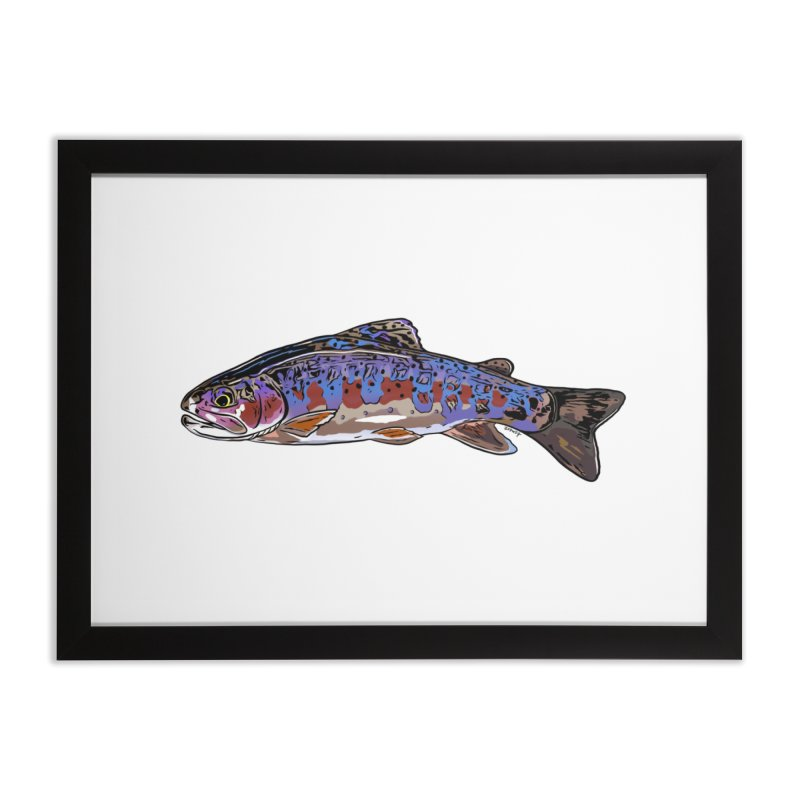 Rainbow Fine Art in Framed Fine Art Print Black by Boneyard Studio - Boneyard Fly Gear