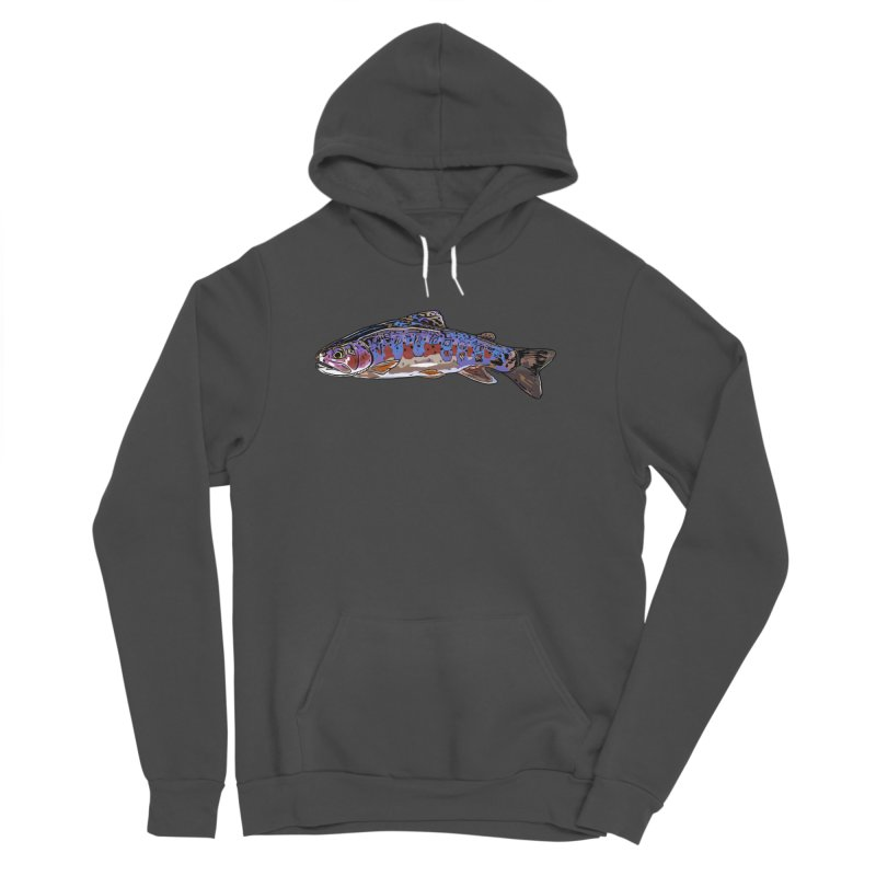 Rainbow 2018 Women's Sponge Fleece Pullover Hoody by Boneyard Studio - Boneyard Fly Gear