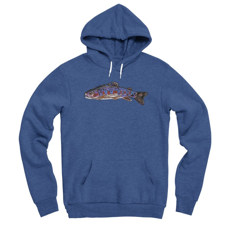 Rainbow 2018 Men's Sponge Fleece Pullover Hoody by Boneyard Studio - Boneyard Fly Gear