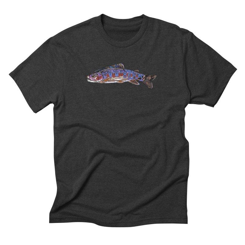 Rainbow 2018 Men's Triblend T-Shirt by Boneyard Studio - Boneyard Fly Gear