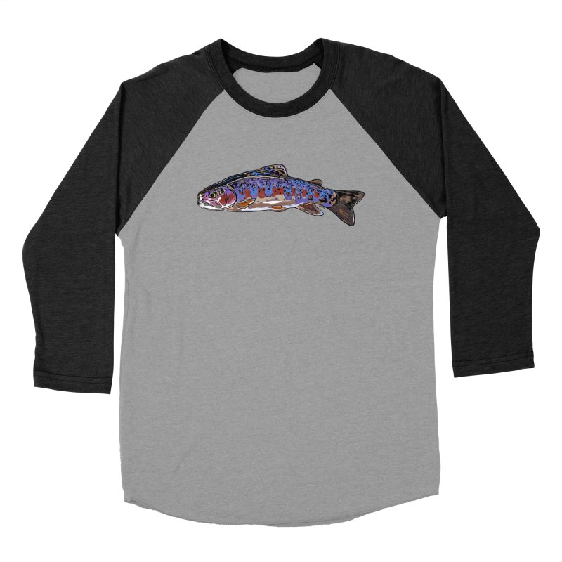 Rainbow 2018 Women's Baseball Triblend Longsleeve T-Shirt by Boneyard Studio - Boneyard Fly Gear