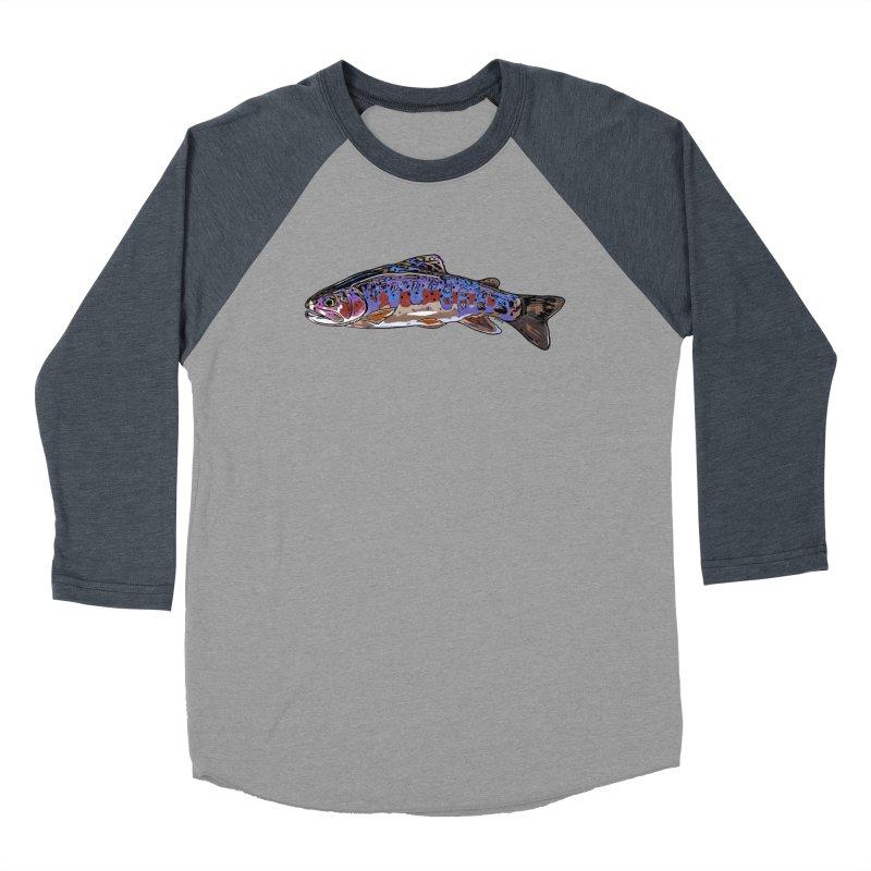 Rainbow 2018 Women's Baseball Triblend Longsleeve T-Shirt by Boneyard Studio - Boneyard Fly Gear