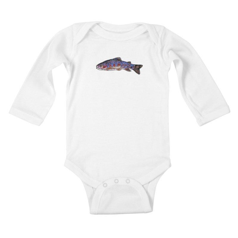 Rainbow 2018 Kids Baby Longsleeve Bodysuit by Boneyard Studio - Boneyard Fly Gear
