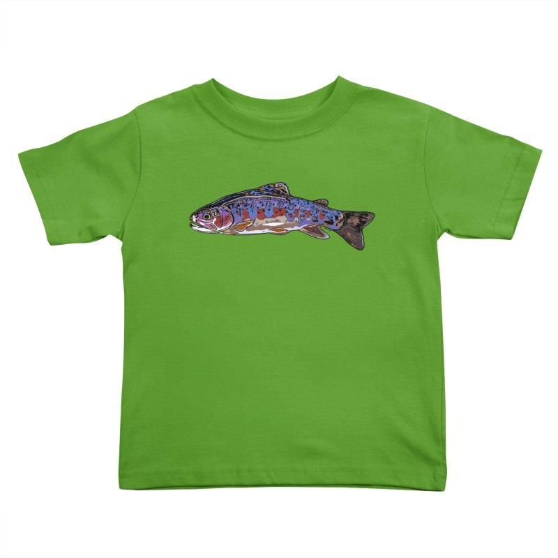 Rainbow 2018 Kids Toddler T-Shirt by Boneyard Studio - Boneyard Fly Gear