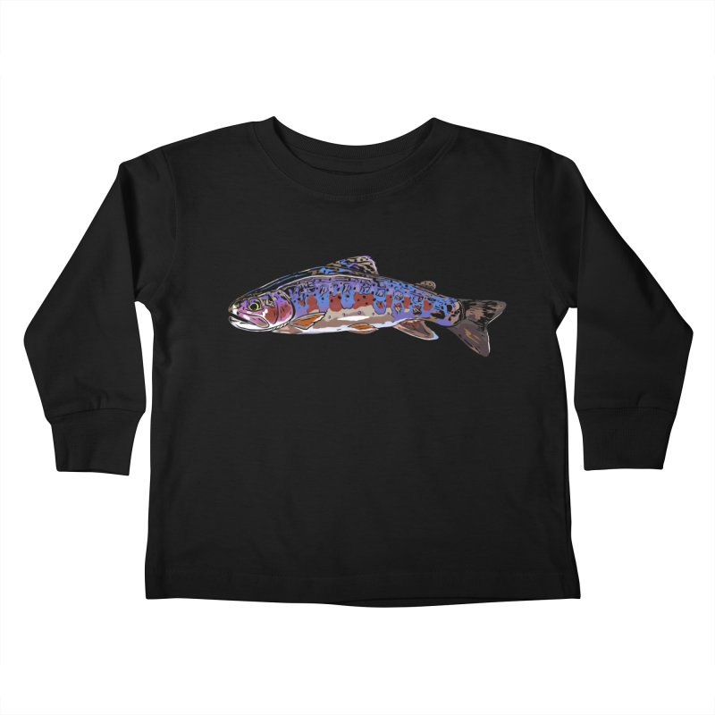 Rainbow 2018 Kids Toddler Longsleeve T-Shirt by Boneyard Studio - Boneyard Fly Gear