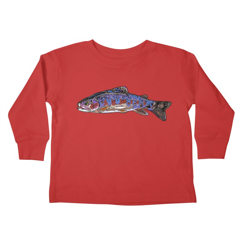 Rainbow 2018 Kids Toddler Longsleeve T-Shirt by Boneyard Studio - Boneyard Fly Gear