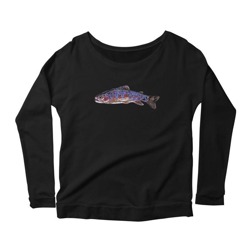 Rainbow 2018 Women's Scoop Neck Longsleeve T-Shirt by Boneyard Studio - Boneyard Fly Gear