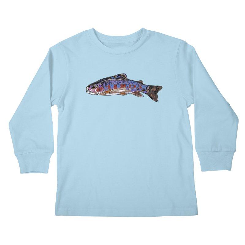 Rainbow 2018 Kids Longsleeve T-Shirt by Boneyard Studio - Boneyard Fly Gear