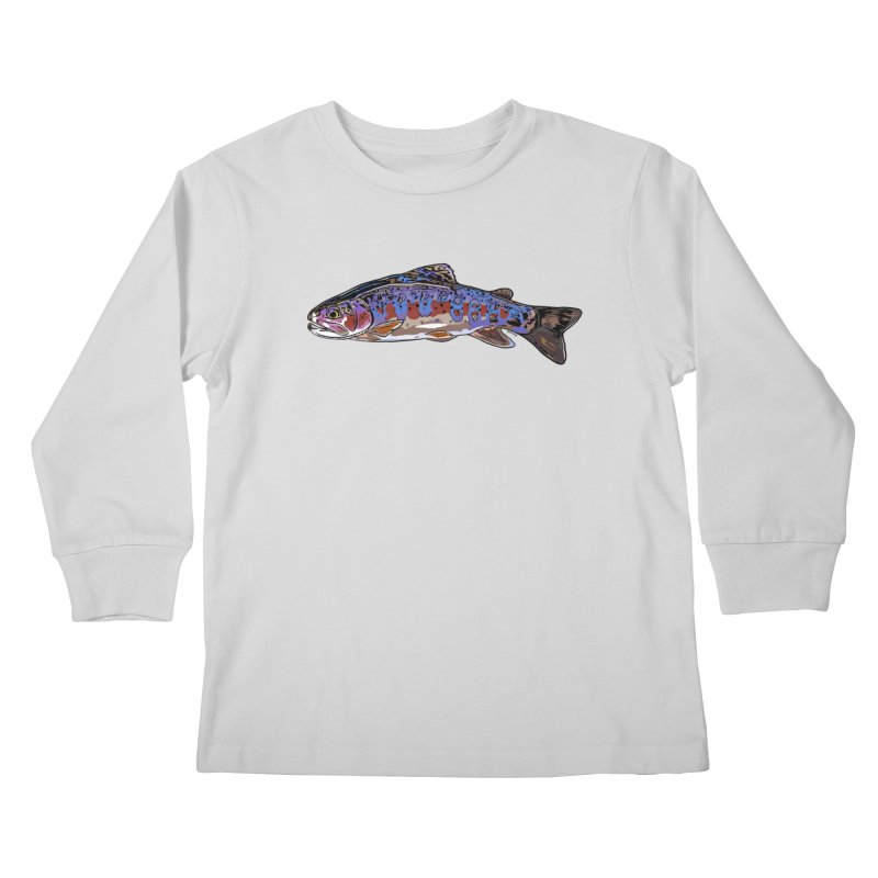 Rainbow 2018 Kids Longsleeve T-Shirt by Boneyard Studio - Boneyard Fly Gear