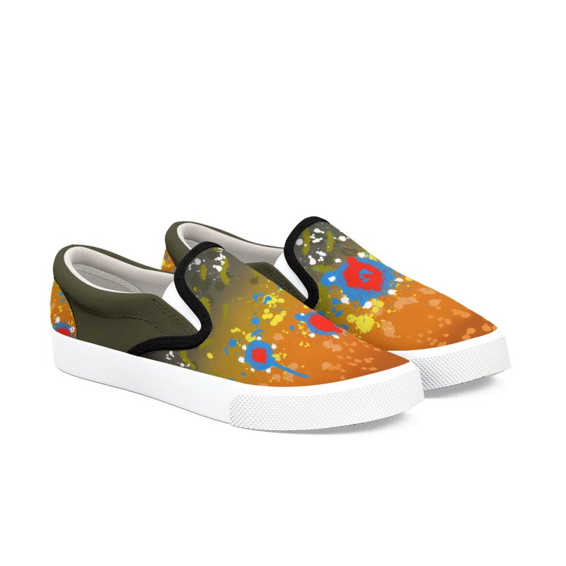 Brook Trout Slip-ons Men's Slip-On Shoes by Boneyard Studio - Boneyard Fly Gear