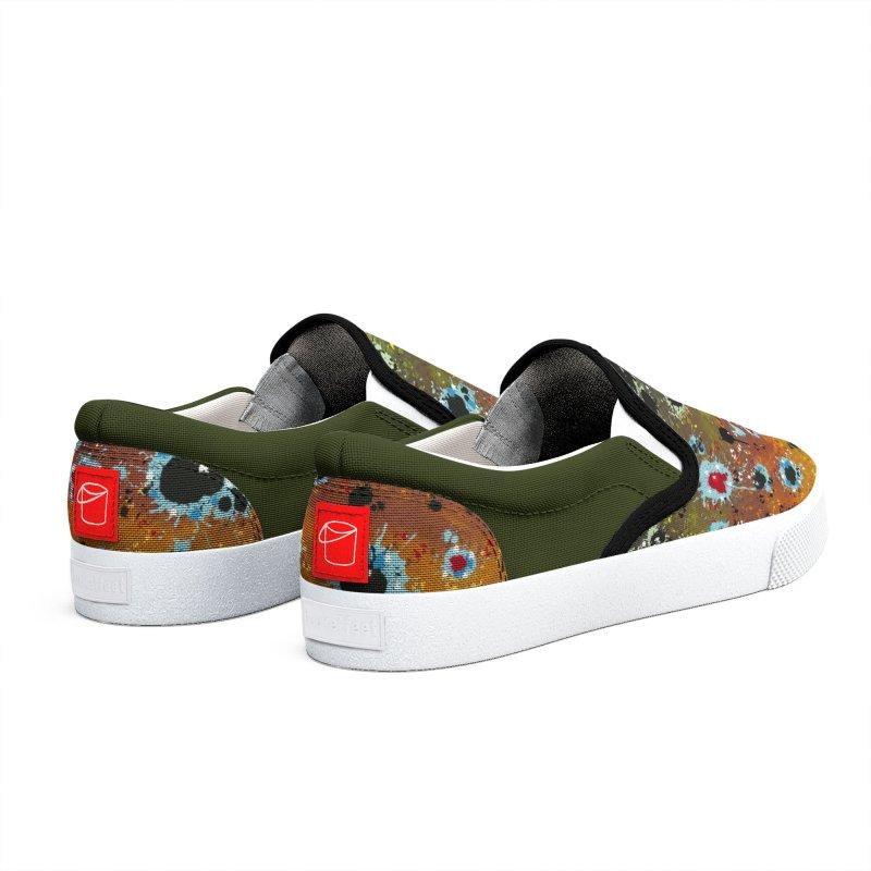 Brown Trout Slip-ons 2019 Women's Shoes by Boneyard Studio - Boneyard Fly Gear
