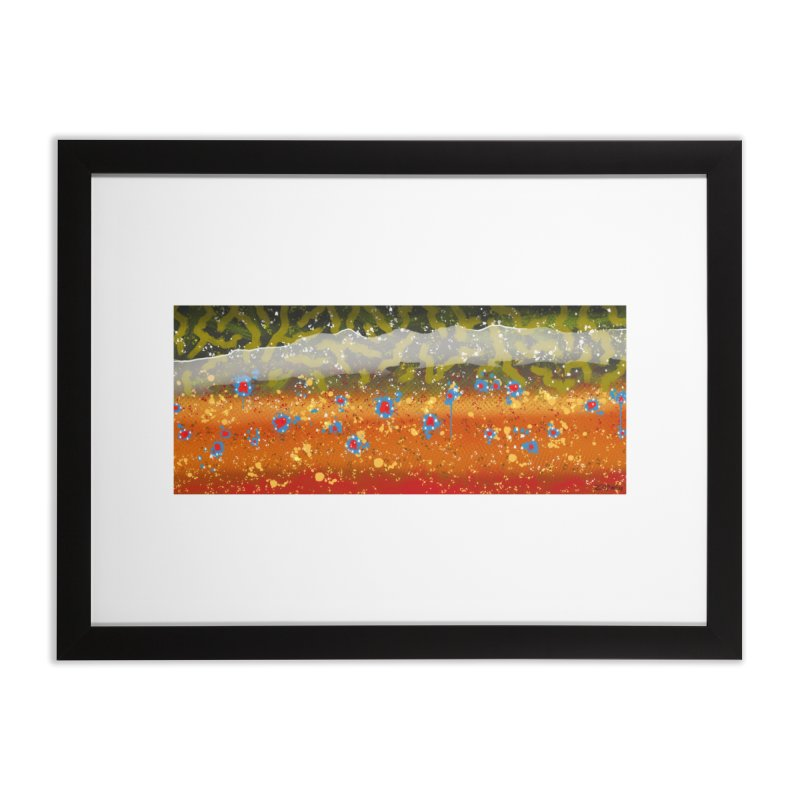 Brook 2019 Fine Art Print Home Framed Fine Art Print by Boneyard Studio - Boneyard Fly Gear