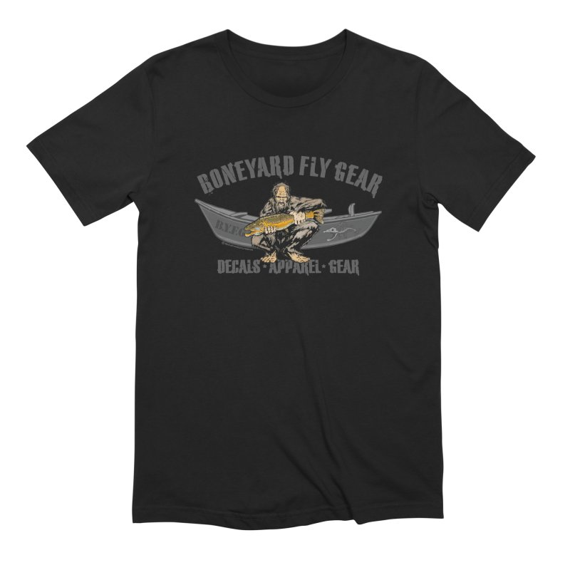 BYFG Squatch Logo 2019 Men's T-Shirt by Boneyard Studio - Boneyard Fly Gear