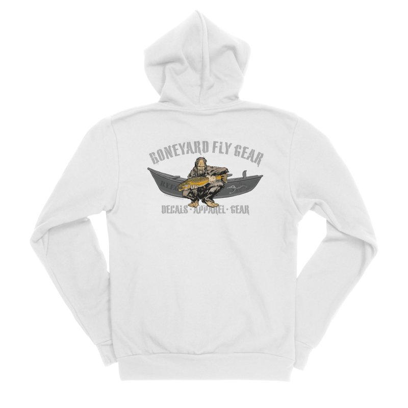 BYFG Squatch Logo 2019 Women's Zip-Up Hoody by Boneyard Studio - Boneyard Fly Gear