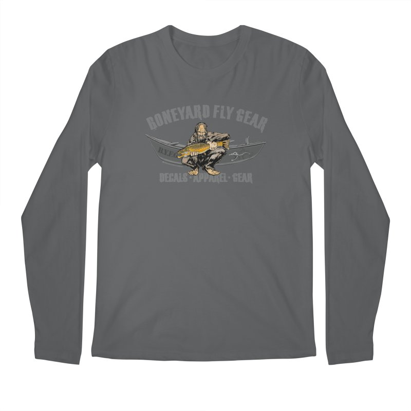 BYFG Squatch Logo 2019 Men's Longsleeve T-Shirt by Boneyard Studio - Boneyard Fly Gear