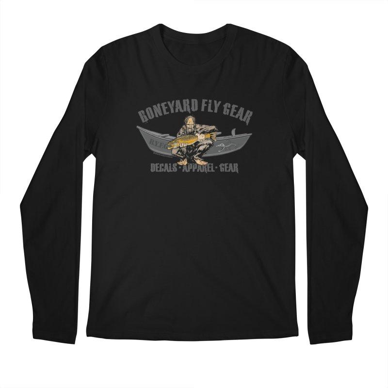 BYFG Squatch Logo 2019 Men's Longsleeve T-Shirt by Boneyard Studio - Boneyard Fly Gear