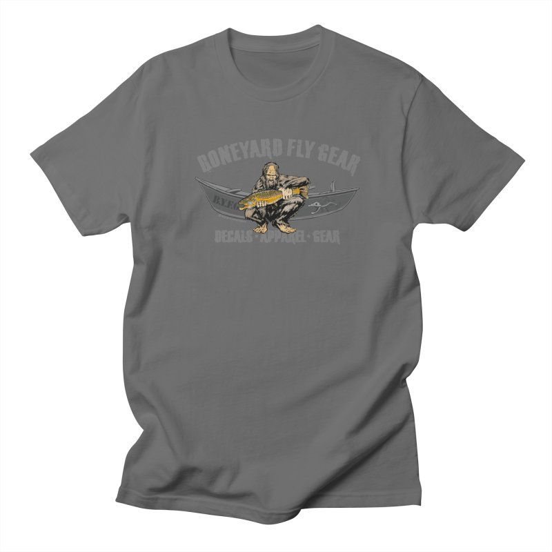 BYFG Squatch Logo 2019 Women's Regular Unisex T-Shirt by Boneyard Studio - Boneyard Fly Gear