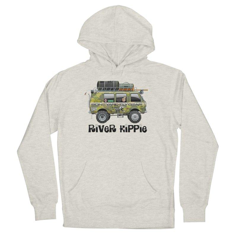 River Hippie Men's Pullover Hoody by Boneyard Studio - Boneyard Fly Gear