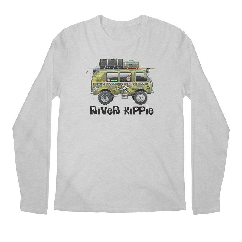 River Hippie Men's Longsleeve T-Shirt by Boneyard Studio - Boneyard Fly Gear