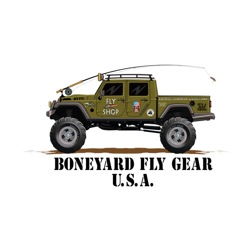 Gladiator Guide Rig Men's Pullover Hoody by Boneyard Studio - Boneyard Fly Gear