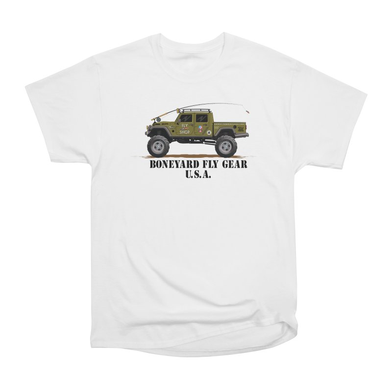 Gladiator Guide Rig Men's T-Shirt by Boneyard Studio - Boneyard Fly Gear
