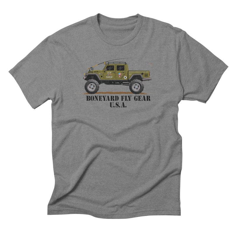 Gladiator Guide Rig Men's T-Shirt by Boneyard Studio - Boneyard Fly Gear