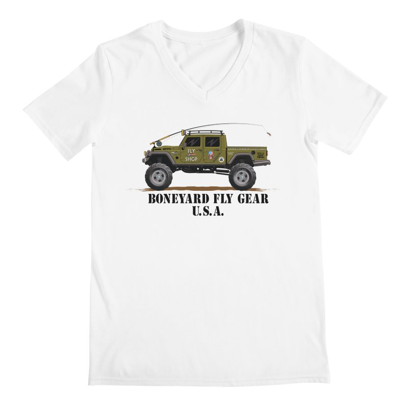 Gladiator Guide Rig Men's V-Neck by Boneyard Studio - Boneyard Fly Gear