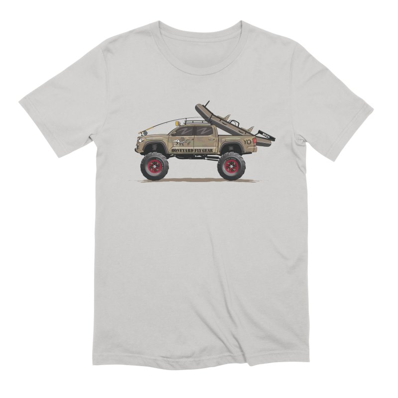 Tacoma Adventure Men's Extra Soft T-Shirt by Boneyard Studio - Boneyard Fly Gear