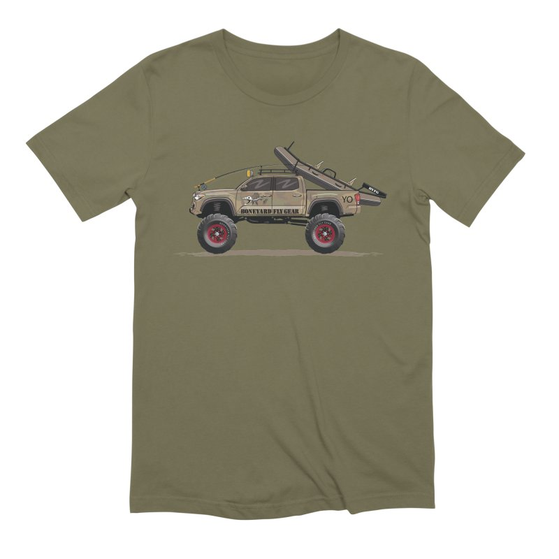 Tacoma Adventure Men's Extra Soft T-Shirt by Boneyard Studio - Boneyard Fly Gear