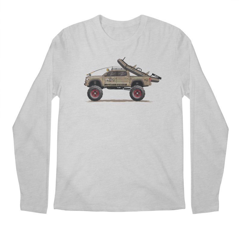 Tacoma Adventure Men's Longsleeve T-Shirt by Boneyard Studio - Boneyard Fly Gear