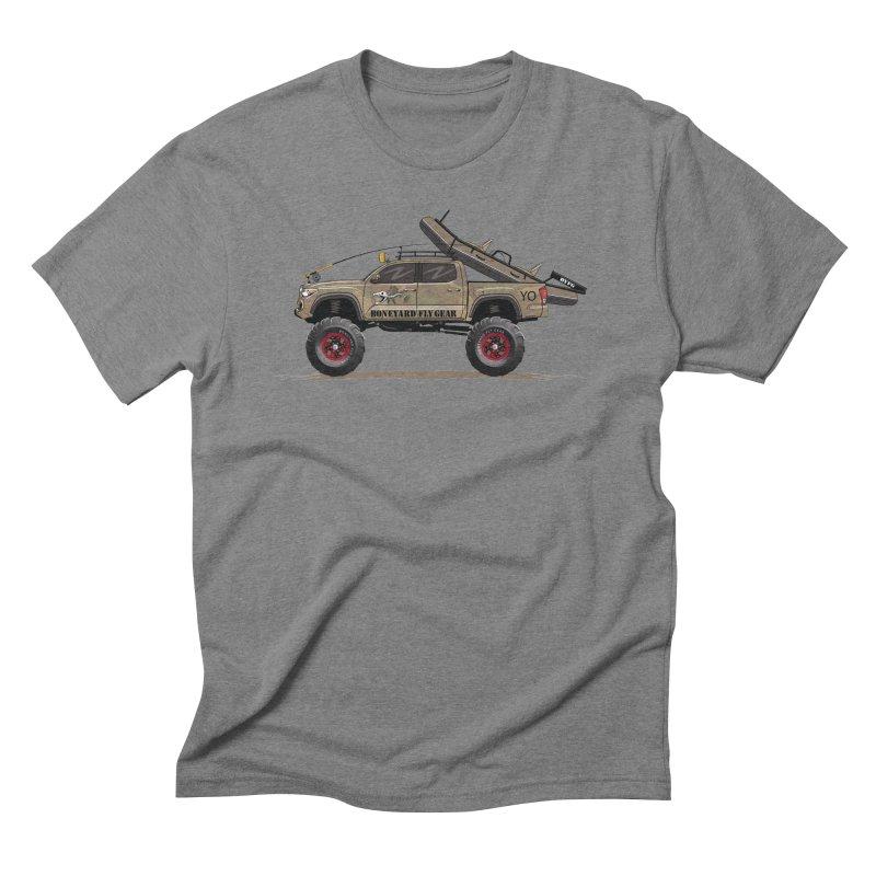 Tacoma Adventure Men's T-Shirt by Boneyard Studio - Boneyard Fly Gear