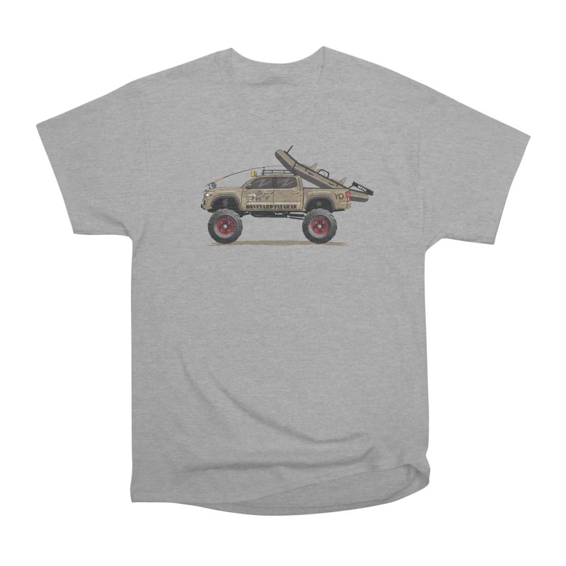Tacoma Adventure Men's Heavyweight T-Shirt by Boneyard Studio - Boneyard Fly Gear