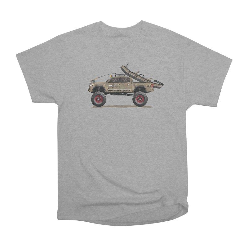Tacoma Adventure Women's Heavyweight Unisex T-Shirt by Boneyard Studio - Boneyard Fly Gear