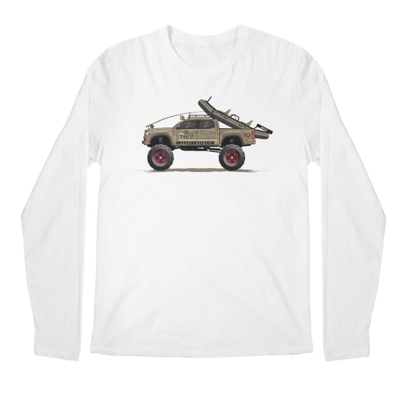 Tacoma Adventure Men's Regular Longsleeve T-Shirt by Boneyard Studio - Boneyard Fly Gear