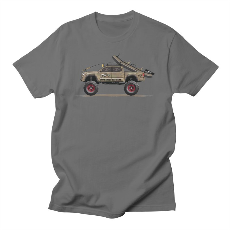 Tacoma Adventure Men's T-Shirt by Boneyard Studio - Boneyard Fly Gear