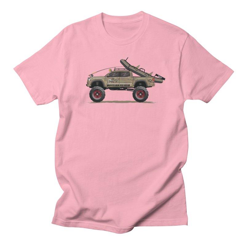 Tacoma Adventure Women's Regular Unisex T-Shirt by Boneyard Studio - Boneyard Fly Gear