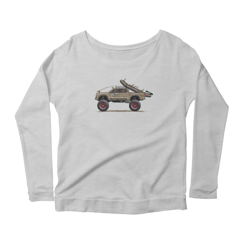 Tacoma Adventure Women's Longsleeve T-Shirt by Boneyard Studio - Boneyard Fly Gear