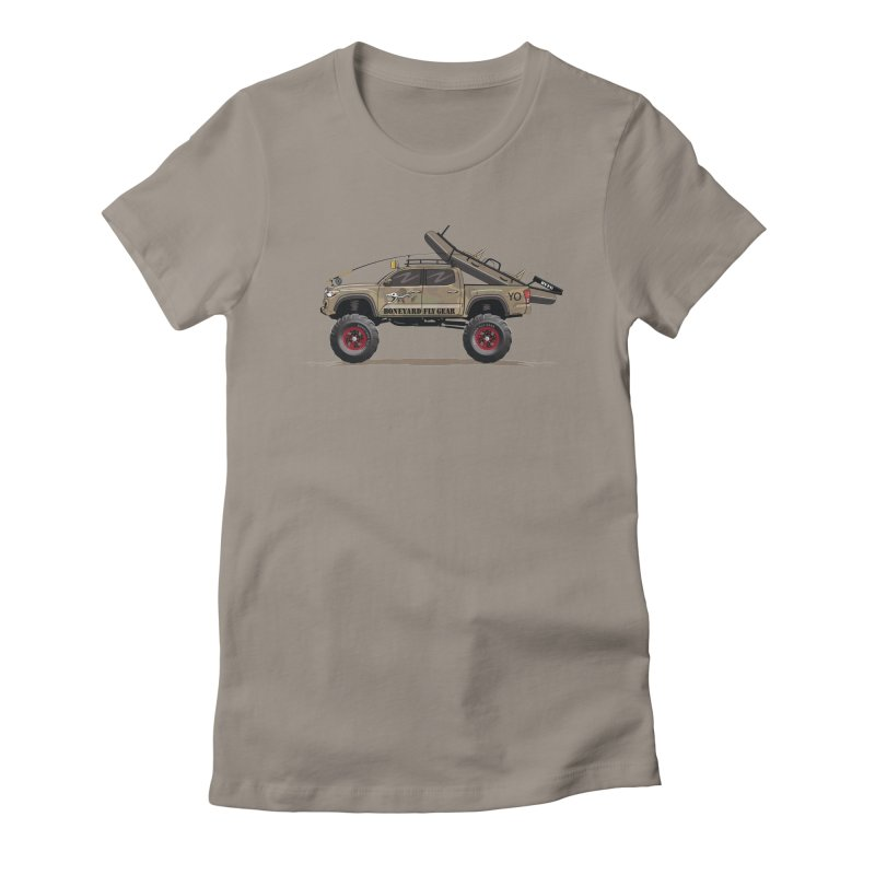 Tacoma Adventure Women's T-Shirt by Boneyard Studio - Boneyard Fly Gear