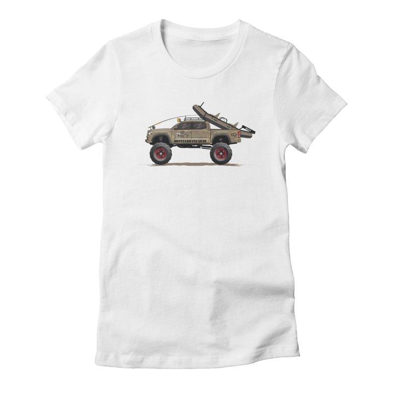 Tacoma Adventure Women's T-Shirt by Boneyard Studio - Boneyard Fly Gear