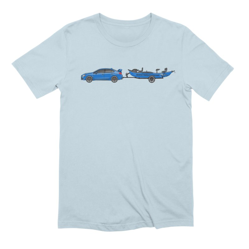 Subaru Drifter Men's Extra Soft T-Shirt by Boneyard Studio - Boneyard Fly Gear