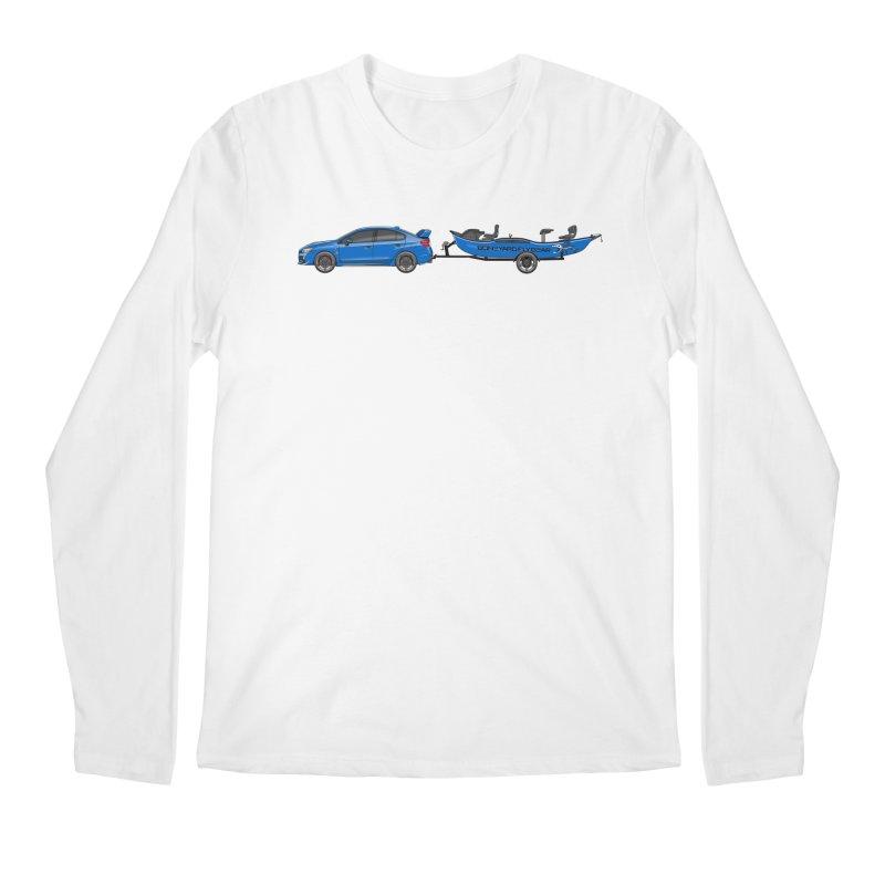 Subaru Drifter Men's Regular Longsleeve T-Shirt by Boneyard Studio - Boneyard Fly Gear
