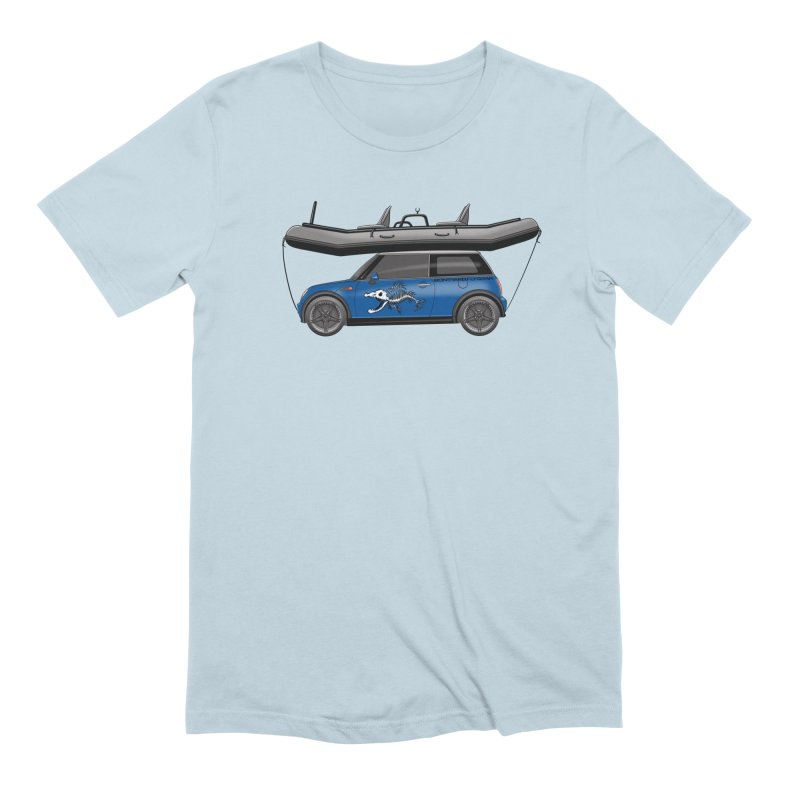 Mini Cooper Adventure Rig Men's Extra Soft T-Shirt by Boneyard Studio - Boneyard Fly Gear