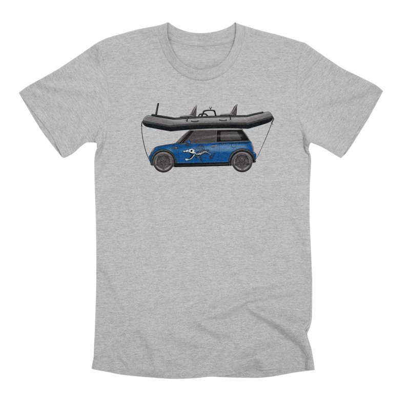 Mini Cooper Adventure Rig Men's T-Shirt by Boneyard Studio - Boneyard Fly Gear