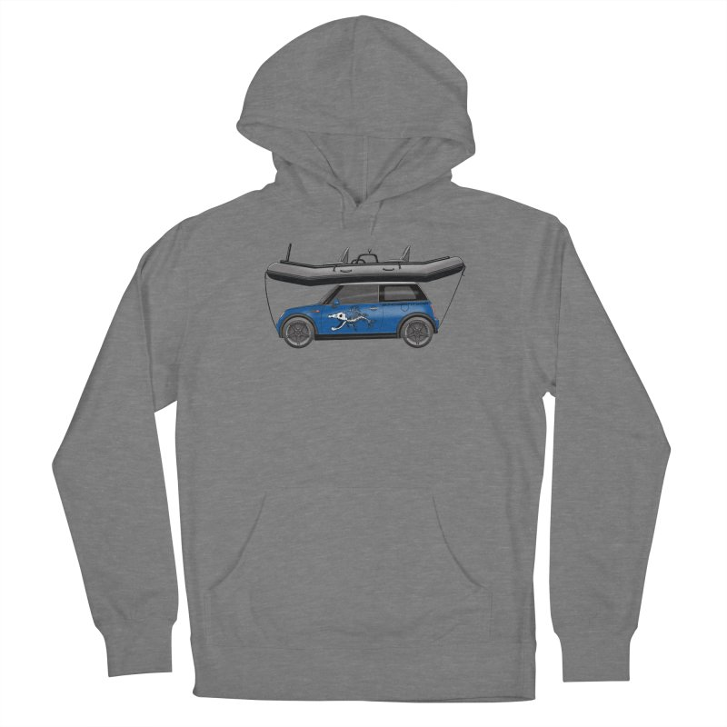 Mini Cooper Adventure Rig Women's Pullover Hoody by Boneyard Studio - Boneyard Fly Gear