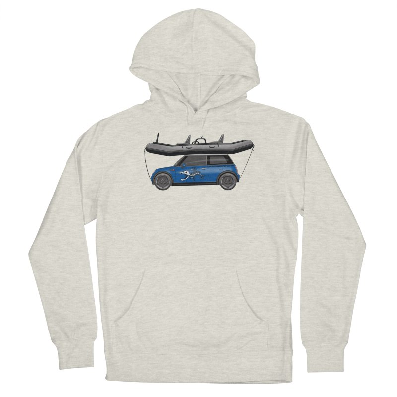 Mini Cooper Adventure Rig Women's French Terry Pullover Hoody by Boneyard Studio - Boneyard Fly Gear