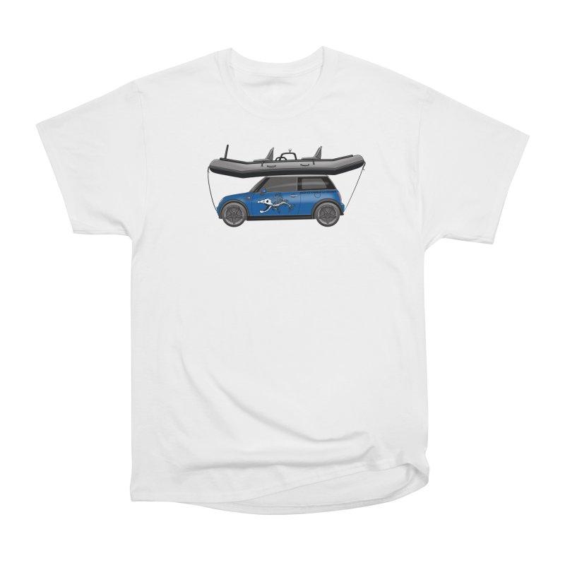 Mini Cooper Adventure Rig Men's T-Shirt by Boneyard Studio - Boneyard Fly Gear