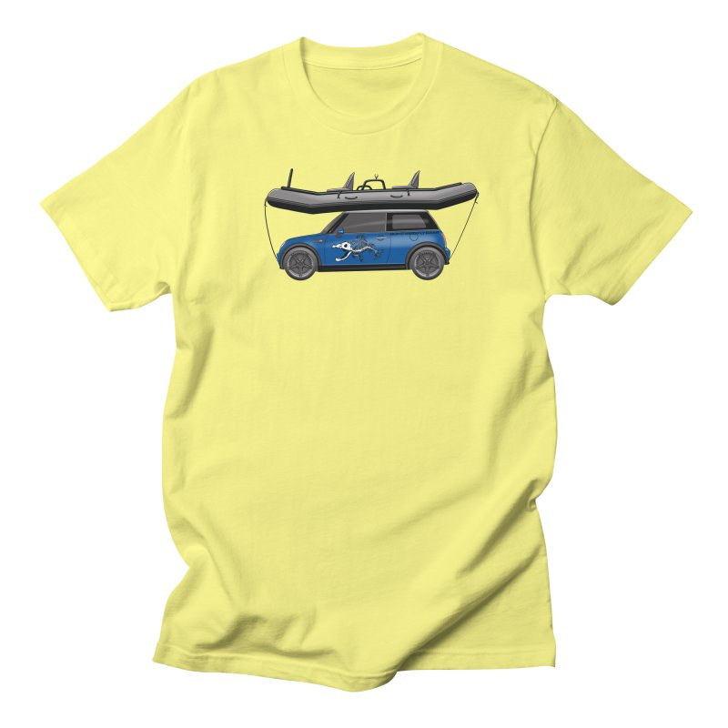 Mini Cooper Adventure Rig Women's Regular Unisex T-Shirt by Boneyard Studio - Boneyard Fly Gear