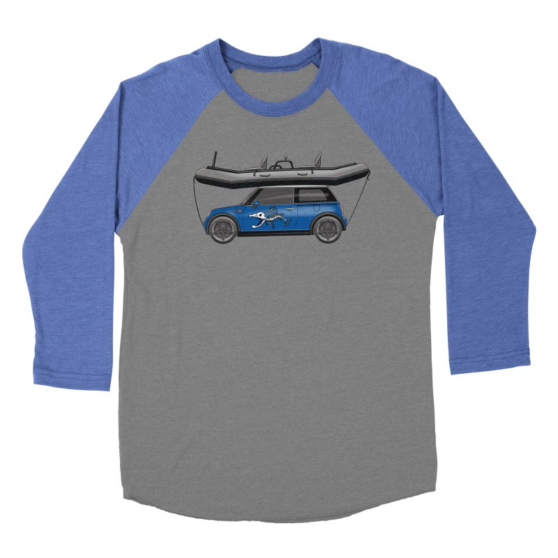 Mini Cooper Adventure Rig Women's Baseball Triblend Longsleeve T-Shirt by Boneyard Studio - Boneyard Fly Gear