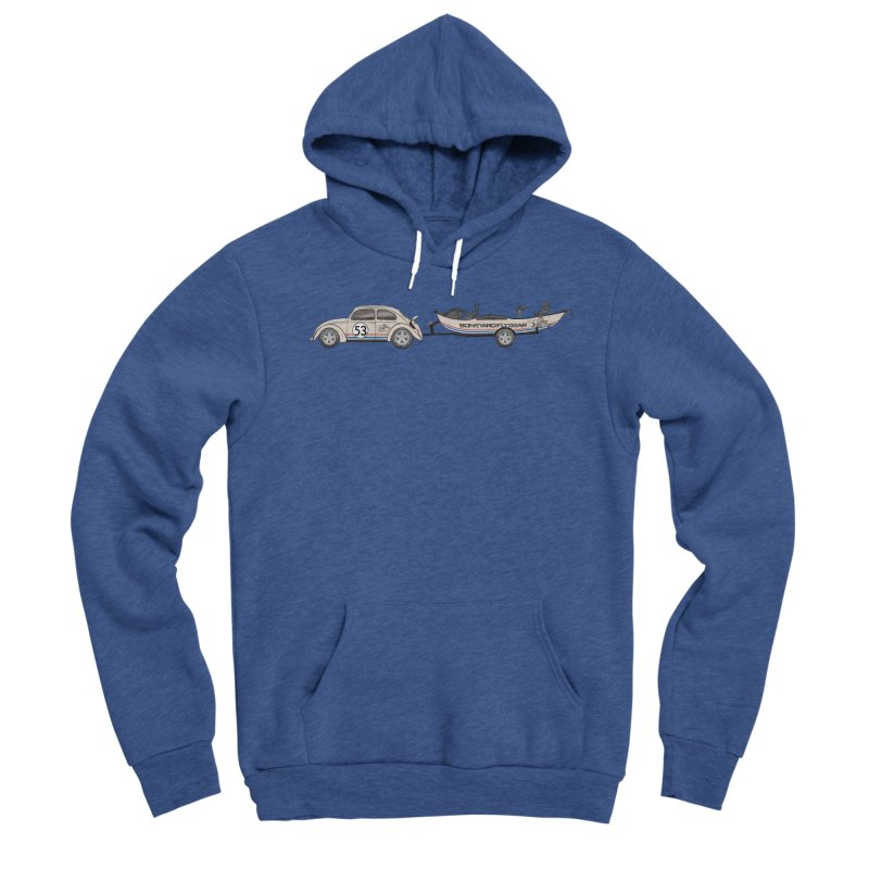Herbie Drifter Women's Sponge Fleece Pullover Hoody by Boneyard Studio - Boneyard Fly Gear
