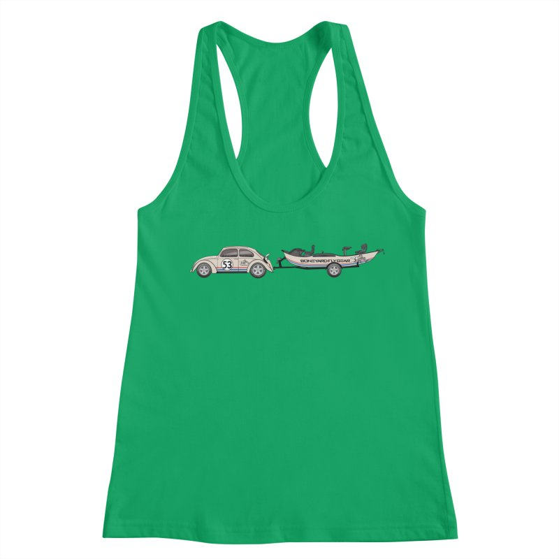 Herbie Drifter Women's Tank by Boneyard Studio - Boneyard Fly Gear